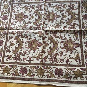 Vintage Ralph Lauren cotton scarf